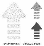 mesh update arrow model with... | Shutterstock .eps vector #1506235406