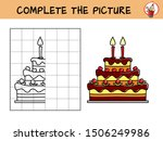 complete the picture of a... | Shutterstock .eps vector #1506249986