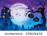 halloween theme image 9   eps10 ... | Shutterstock .eps vector #150626618