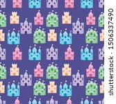 Cute Fairytale Pattern With...