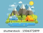 Mountain Camping Travel...