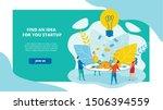 advertising poster find an idea ...   Shutterstock .eps vector #1506394559