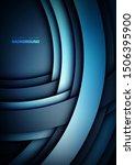 abstract vector background.... | Shutterstock .eps vector #1506395900