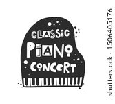 Classical Music Concert Vector...