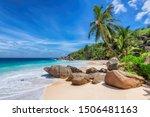 Tropical Sunny Beach And...