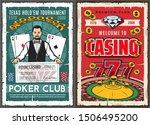 Stock vector casino poker club gambling game jackpot win in texas hold them tournament vector croupier at 1506495200