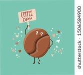 cute vector illustration of a... | Shutterstock .eps vector #1506584900