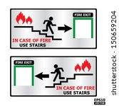 rectangle fire exit door or... | Shutterstock .eps vector #150659204