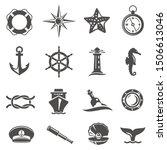 Sea Voyage Accessories Glyph...