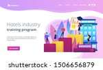hostel employee  chef  maid ... | Shutterstock .eps vector #1506656879
