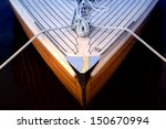 Bow Of A Sailboat