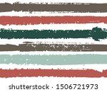 horizontal ink lines paint... | Shutterstock .eps vector #1506721973
