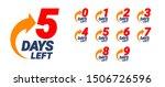 countdown left days banner.... | Shutterstock .eps vector #1506726596