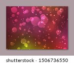 blurred background in pink and...   Shutterstock .eps vector #1506736550