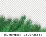 winter background with... | Shutterstock .eps vector #1506736556