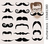 vector set of hipster and retro ... | Shutterstock .eps vector #150681380