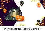 halloween template for your art ... | Shutterstock .eps vector #1506819959