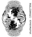 vector hand drawn illustration...   Shutterstock .eps vector #1506827306