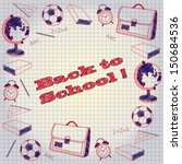 back to school | Shutterstock .eps vector #150684536