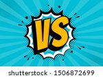 fight comic speech bubble with... | Shutterstock .eps vector #1506872699
