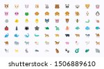 animals vector illustration... | Shutterstock .eps vector #1506889610