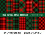 red green black christmas... | Shutterstock .eps vector #1506892460