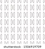 seamless geometric ornamental...   Shutterstock .eps vector #1506919709