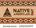 Native American Day Is A...