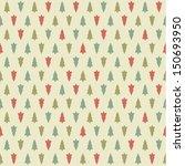 vector christmas pattern.... | Shutterstock .eps vector #150693950