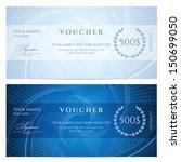 gift certificate  voucher ... | Shutterstock .eps vector #150699050