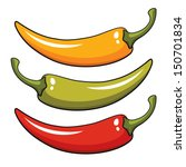pepper  vector illustration | Shutterstock .eps vector #150701834