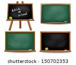 set of school board blackboards....   Shutterstock .eps vector #150702353