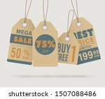 tag design for show price or...   Shutterstock .eps vector #1507088486