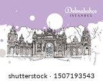 drawing sketch illustration of... | Shutterstock .eps vector #1507193543