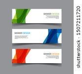vector abstract design banner...   Shutterstock .eps vector #1507211720