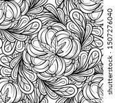black and white autumn vector...   Shutterstock .eps vector #1507276040