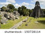 ruins of tikal guatemala | Shutterstock . vector #150728114
