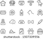set of pet icons  dog  cat ... | Shutterstock .eps vector #1507339556