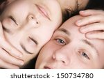 full frame head portrait of a... | Shutterstock . vector #150734780