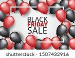 black friday sale banner design ... | Shutterstock .eps vector #1507432916