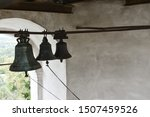 Wind Bell With Metal Fish At...
