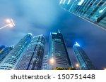 the skyscraper in city | Shutterstock . vector #150751448