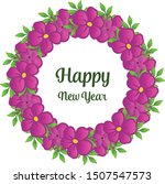 place for your text  happy new... | Shutterstock .eps vector #1507547573