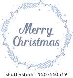 ornament decorative of blue... | Shutterstock .eps vector #1507550519
