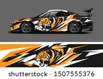 car wrap  decal  vinyl sticker... | Shutterstock .eps vector #1507555376