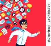 overloading concept....   Shutterstock .eps vector #1507556999