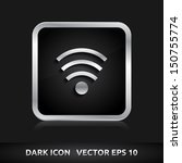 wifi icon   color dark black...