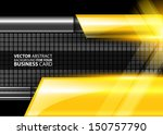 abstract business background  ... | Shutterstock .eps vector #150757790