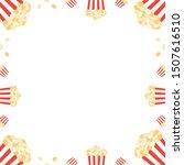 vector frame  card template... | Shutterstock .eps vector #1507616510