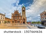 Small photo of The Guildhall in Londonderry / Derry, Northern Ireland